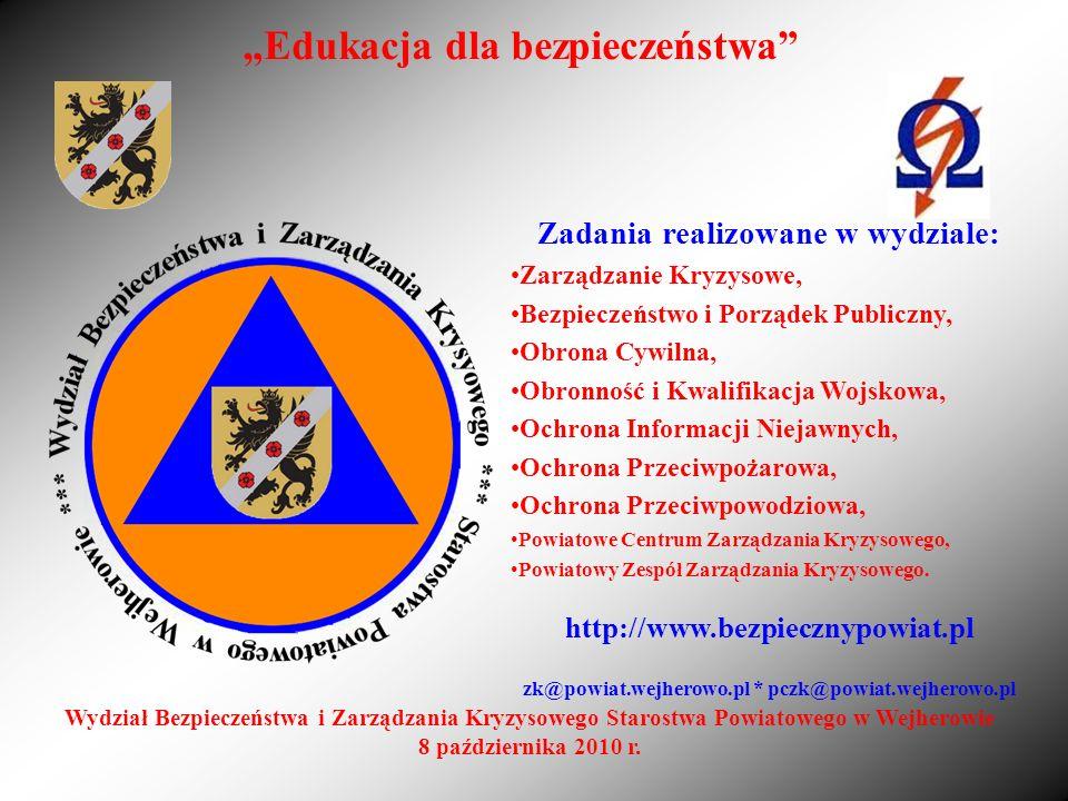 """""""Edukacja dla bezpieczeństwa"""