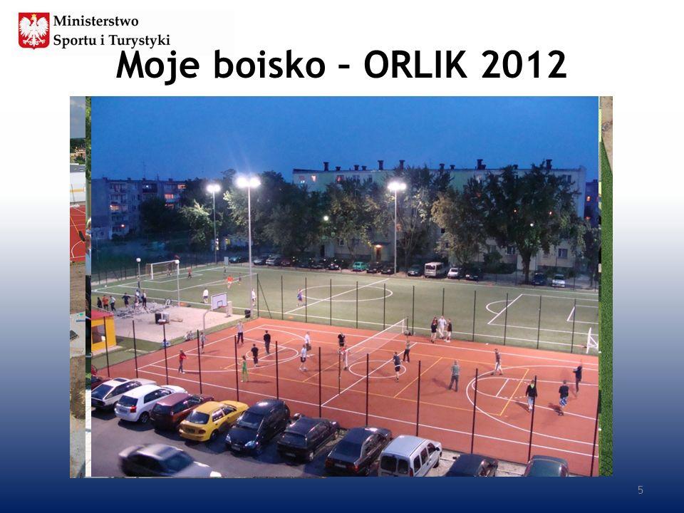 Moje boisko – ORLIK 2012