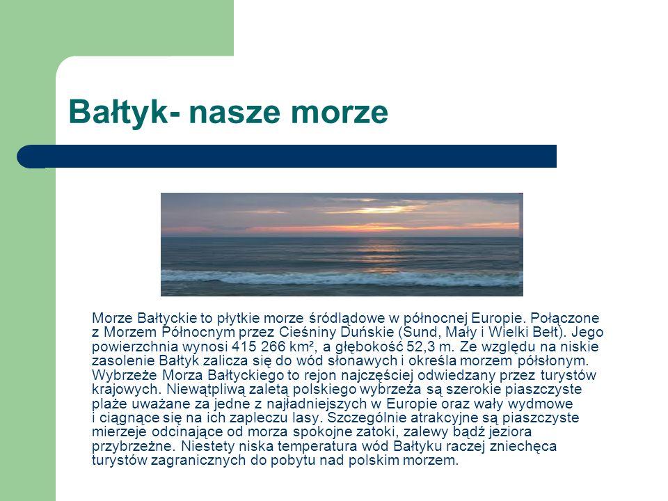 Bałtyk- nasze morze