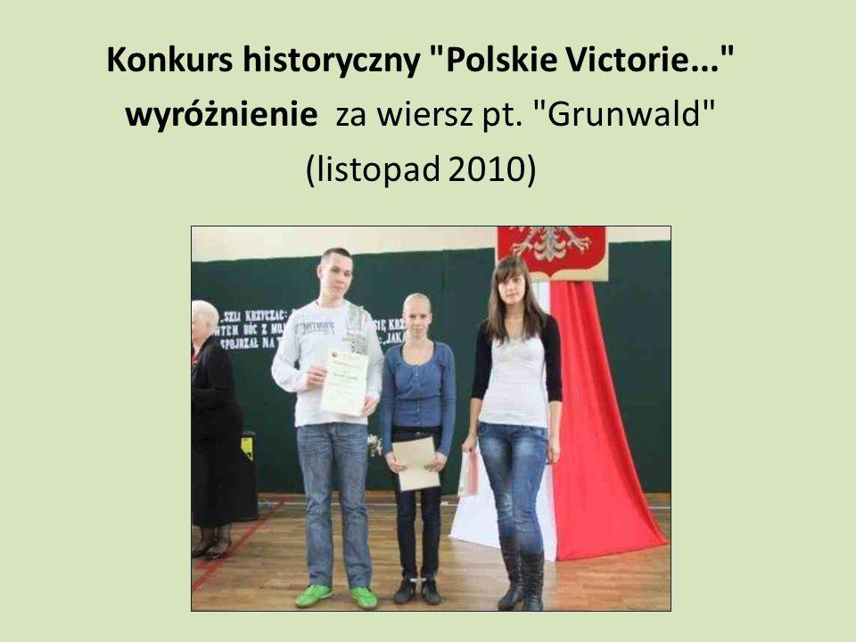 Konkurs historyczny Polskie Victorie...