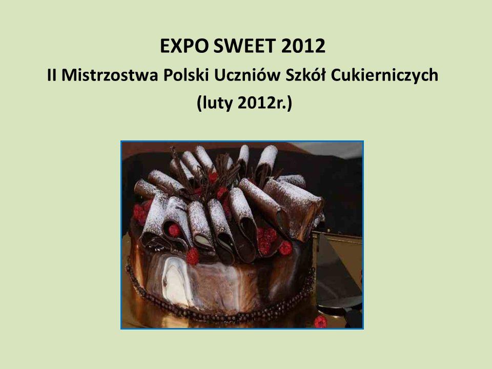 II Mistrzostwa Polski Uczniów Szkół Cukierniczych