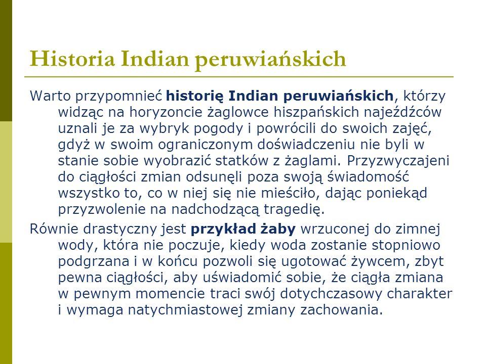 Historia Indian peruwiańskich