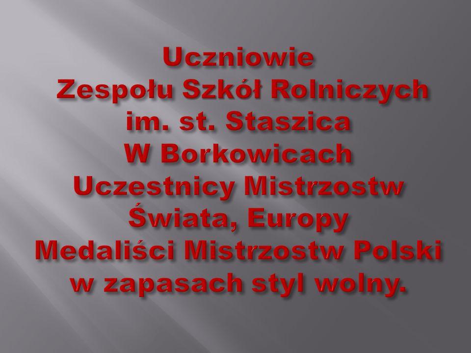 Uczniowie Zespołu Szkół Rolniczych im. st