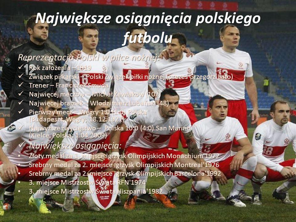 Największe osiągnięcia polskiego futbolu