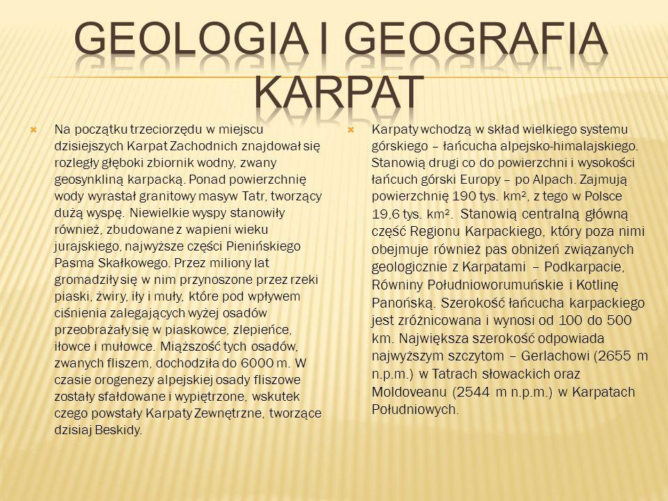 Geologia I Geografia Karpat