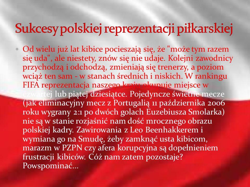 Sukcesy polskiej reprezentacji piłkarskiej