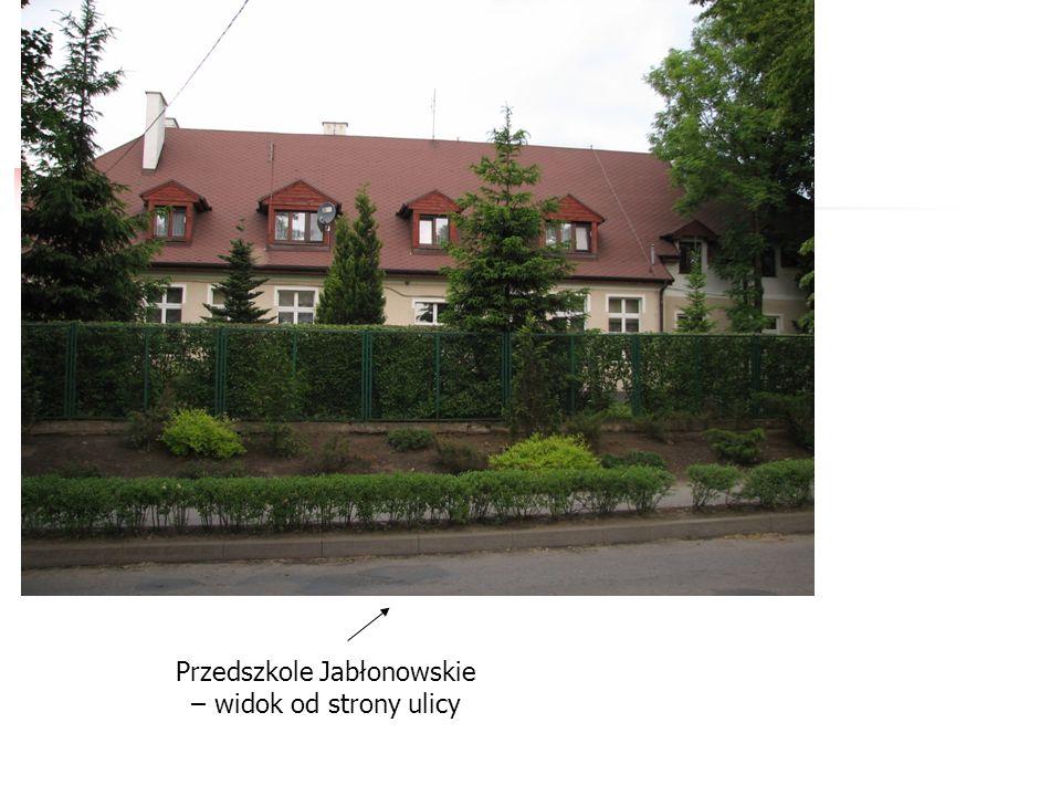 Przedszkole Jabłonowskie – widok od strony ulicy
