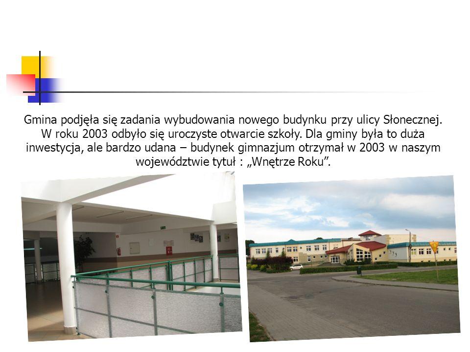 Gmina podjęła się zadania wybudowania nowego budynku przy ulicy Słonecznej.