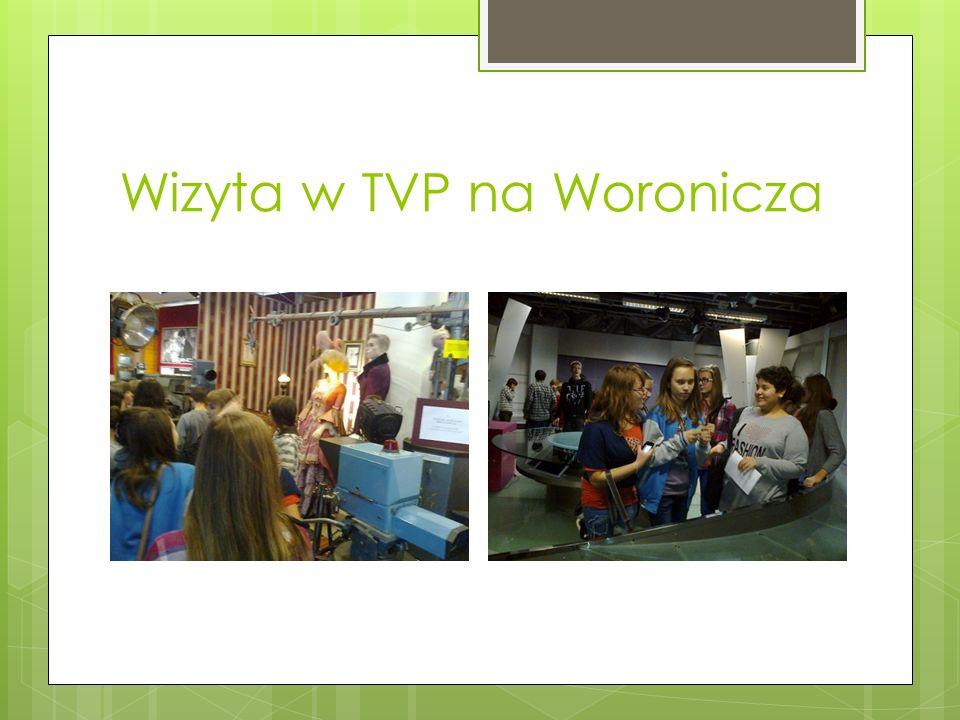 Wizyta w TVP na Woronicza