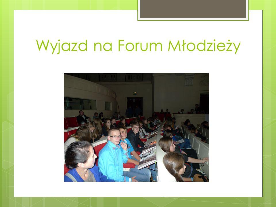 Wyjazd na Forum Młodzieży
