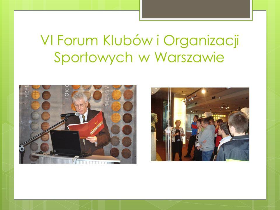 VI Forum Klubów i Organizacji Sportowych w Warszawie