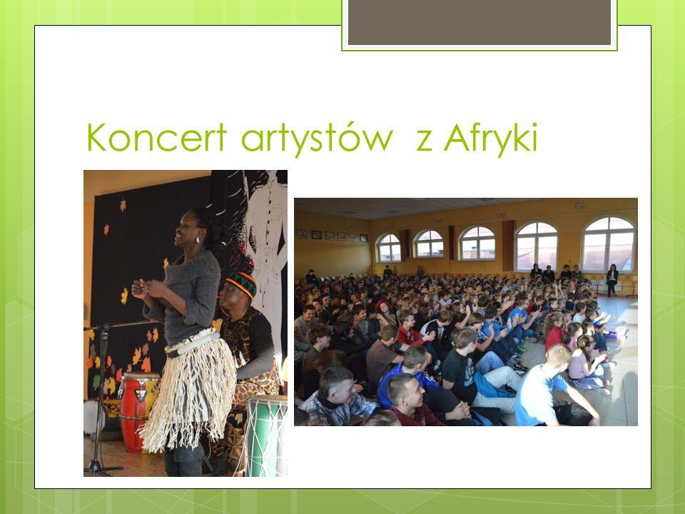 Koncert artystów z Afryki