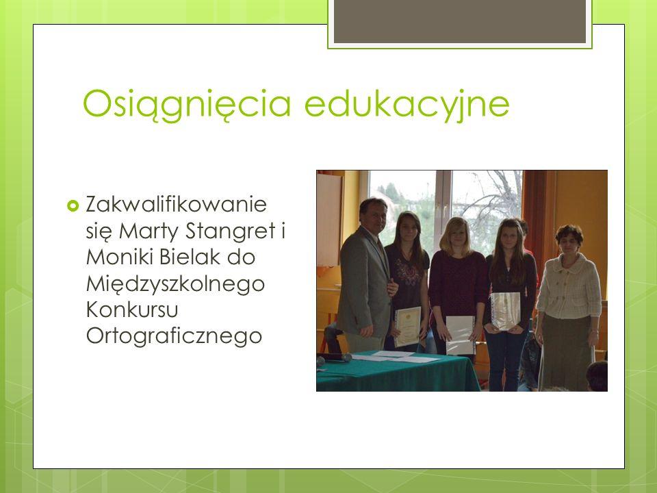 Osiągnięcia edukacyjne