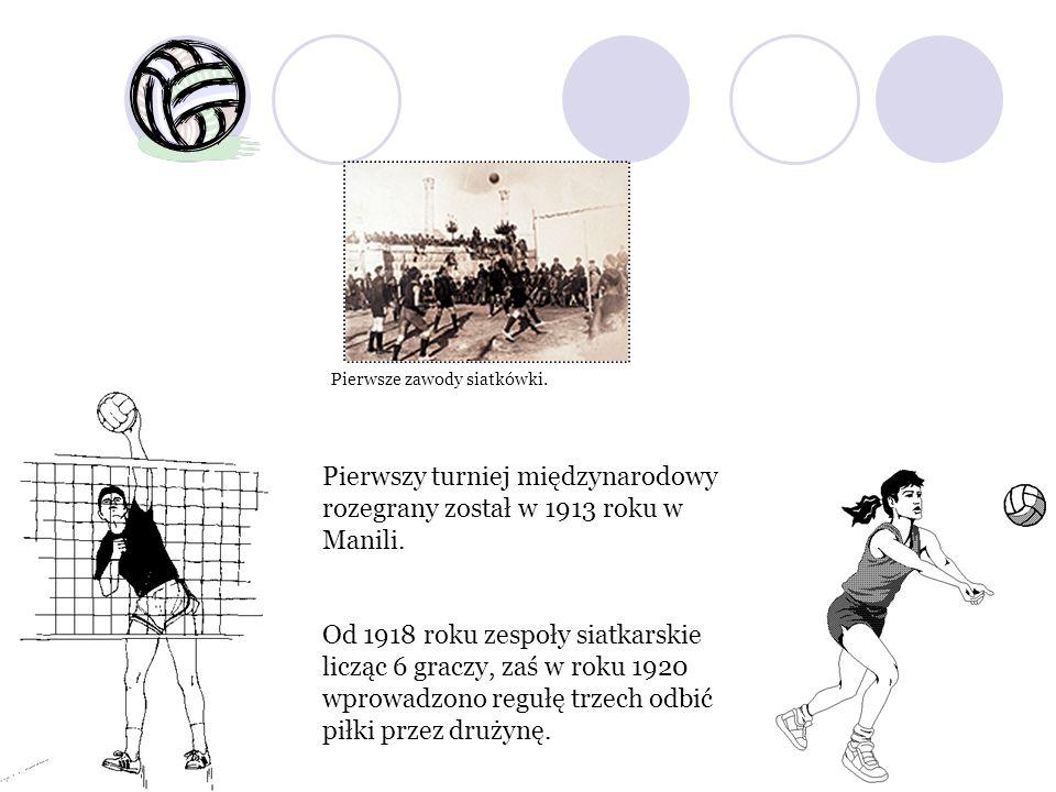 Pierwszy turniej międzynarodowy rozegrany został w 1913 roku w Manili.