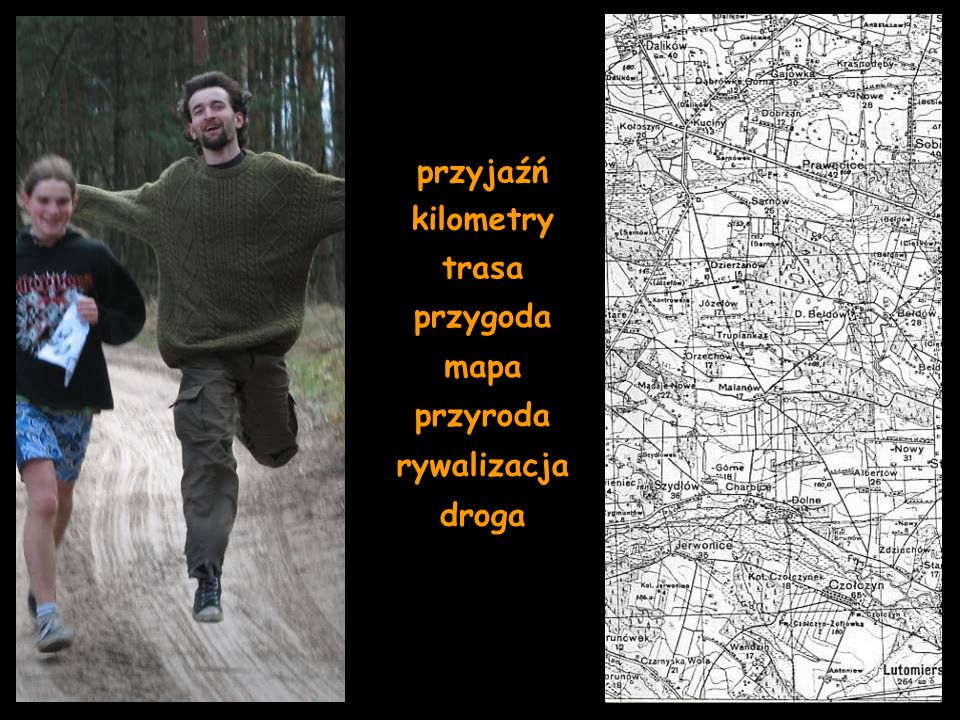 przyjaźń kilometry trasa przygoda mapa przyroda rywalizacja droga