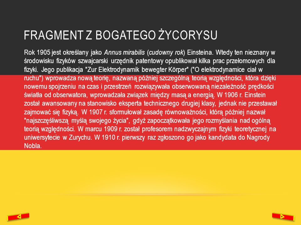FRAGMENT Z BOGATEGO ŻYCORYSU