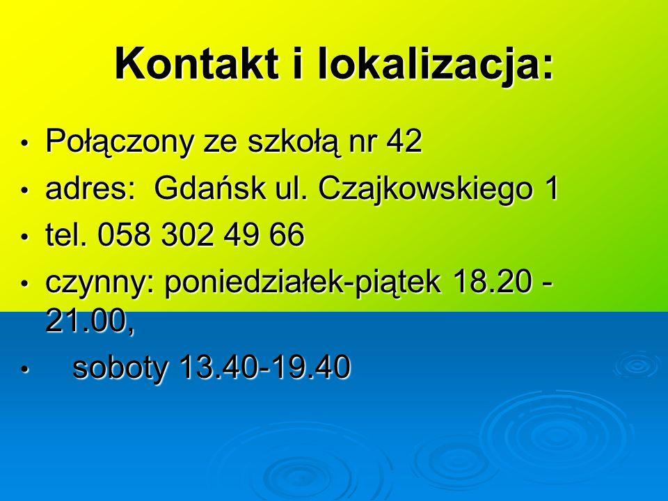 Kontakt i lokalizacja: