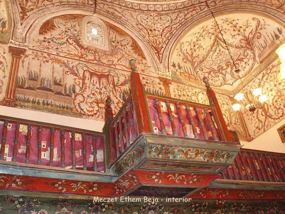 Meczet Ethem Beja - interior