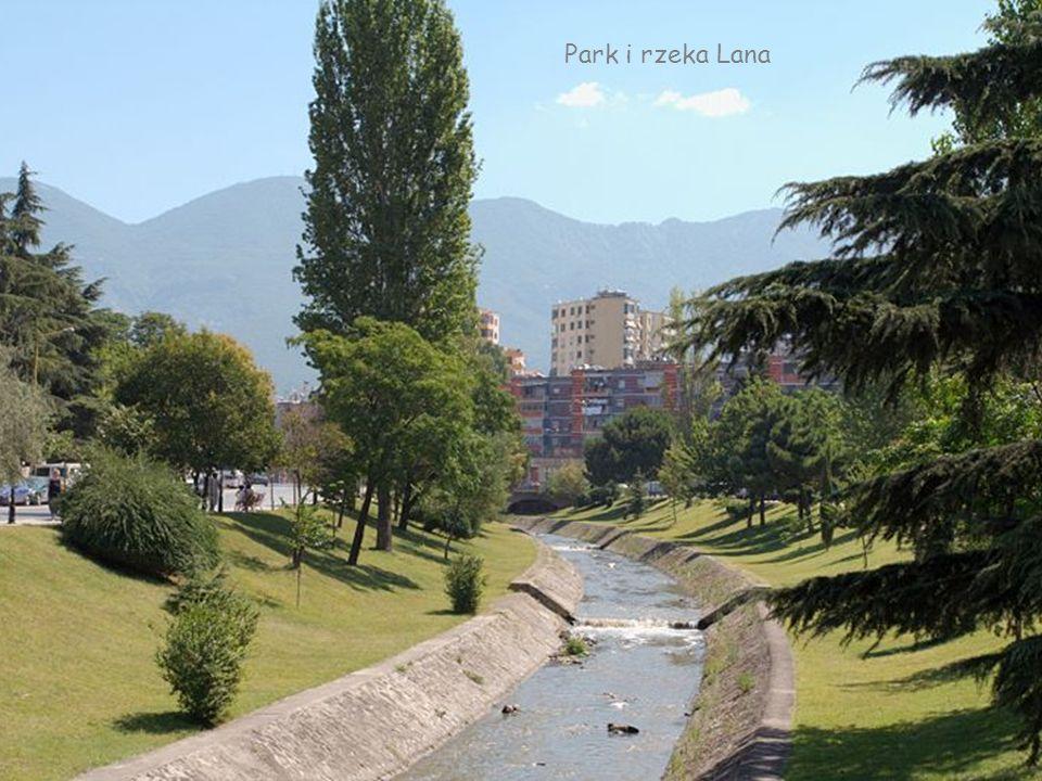 Park i rzeka Lana