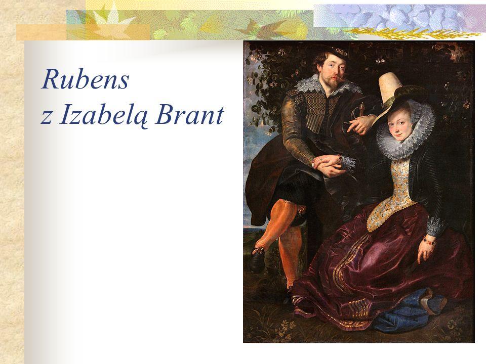 Rubens z Izabelą Brant