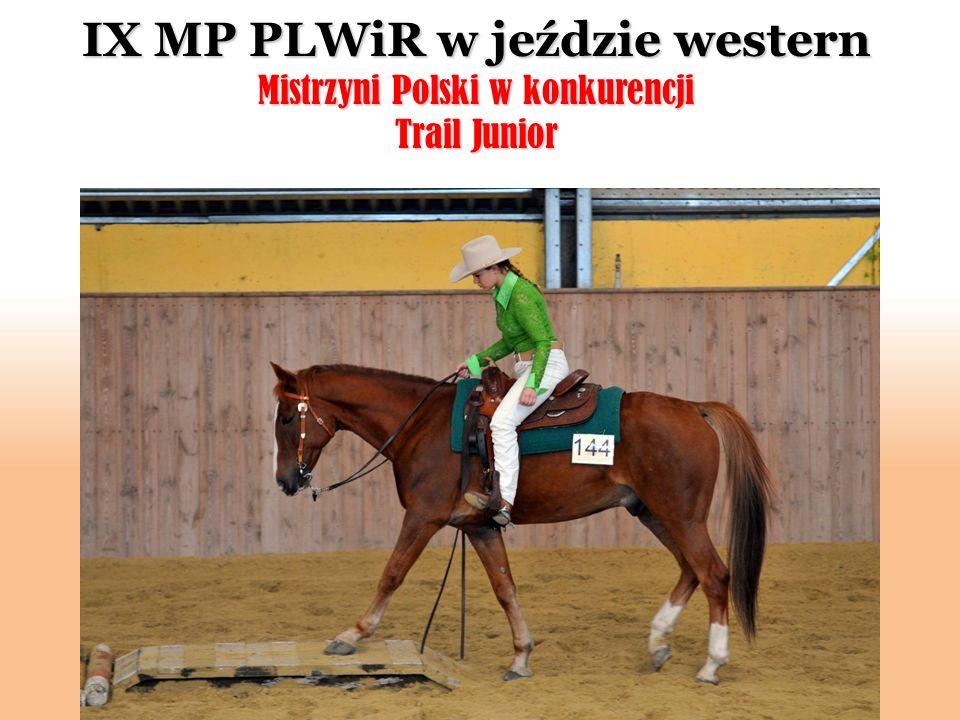 IX MP PLWiR w jeździe western