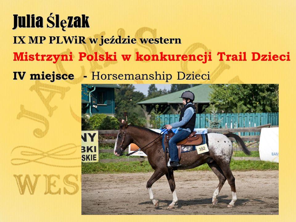 Julia Ślęzak Mistrzyni Polski w konkurencji Trail Dzieci