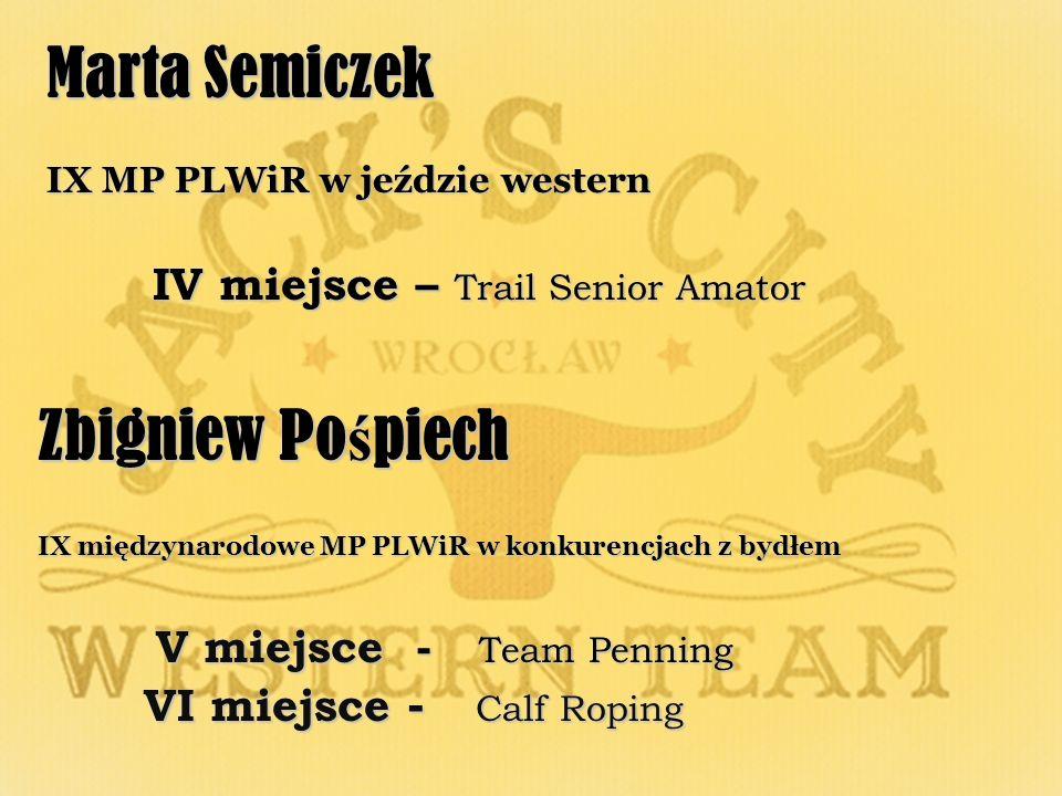 Marta Semiczek Zbigniew Pośpiech IV miejsce – Trail Senior Amator