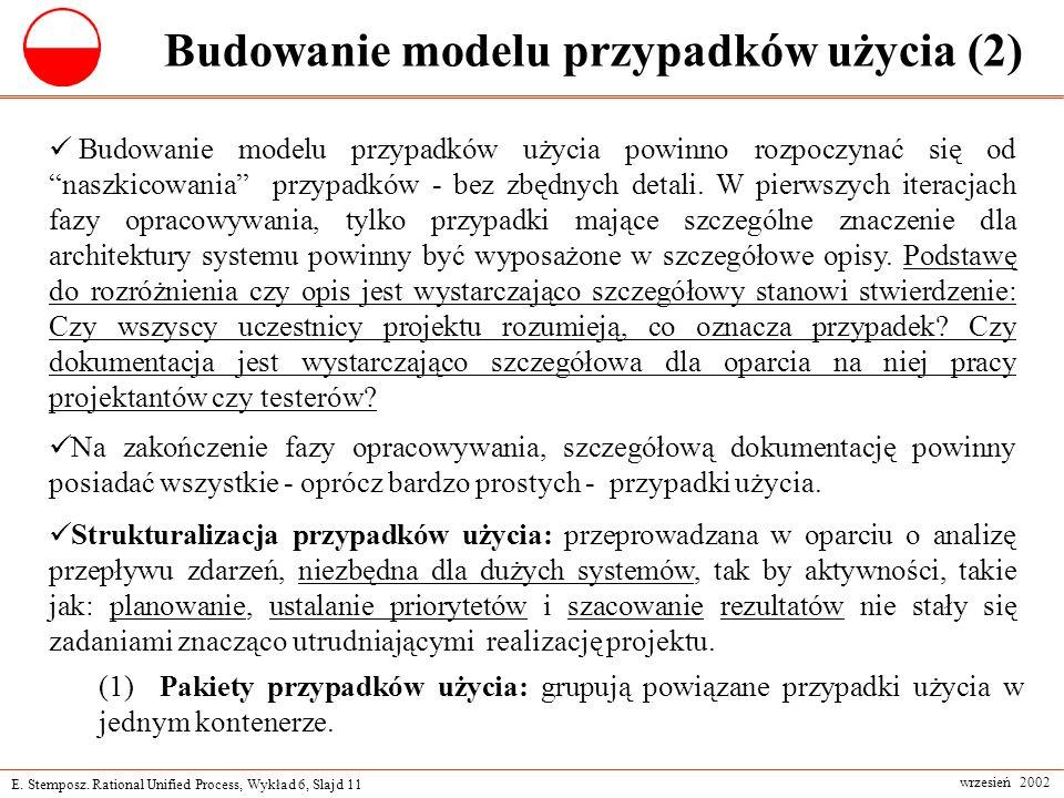 Budowanie modelu przypadków użycia (2)