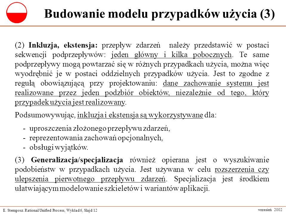 Budowanie modelu przypadków użycia (3)