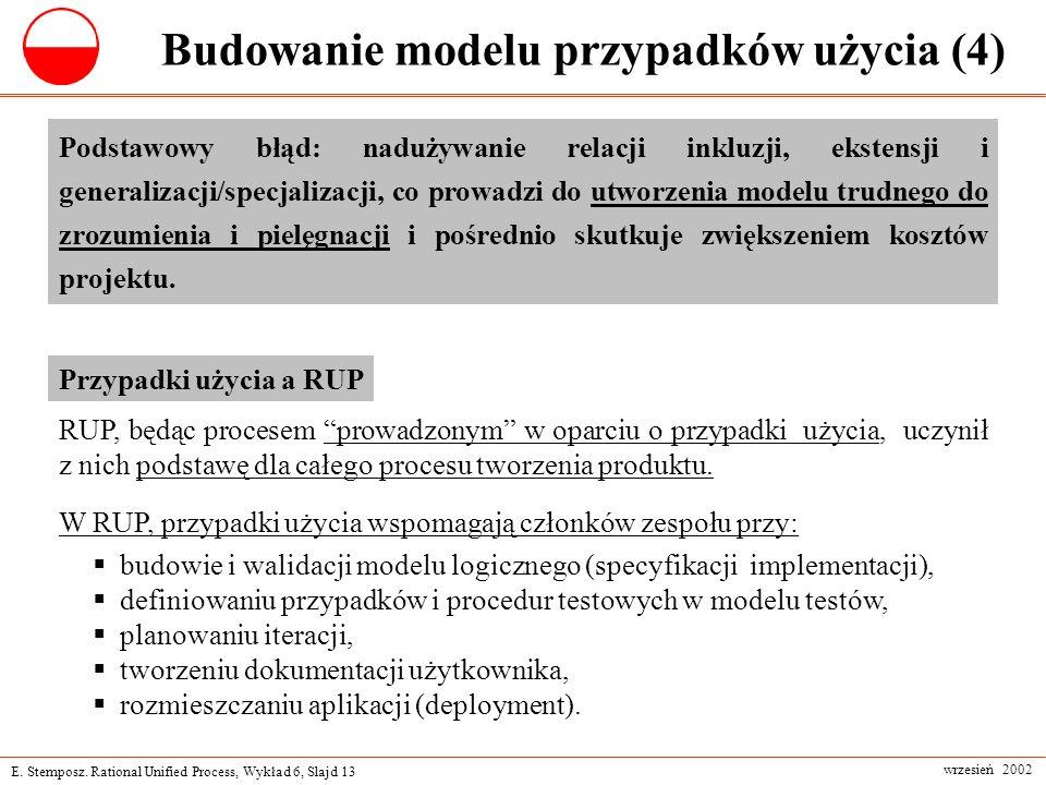 Budowanie modelu przypadków użycia (4)