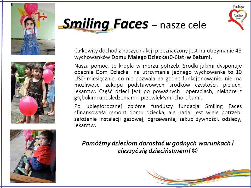 Smiling Faces – nasze cele