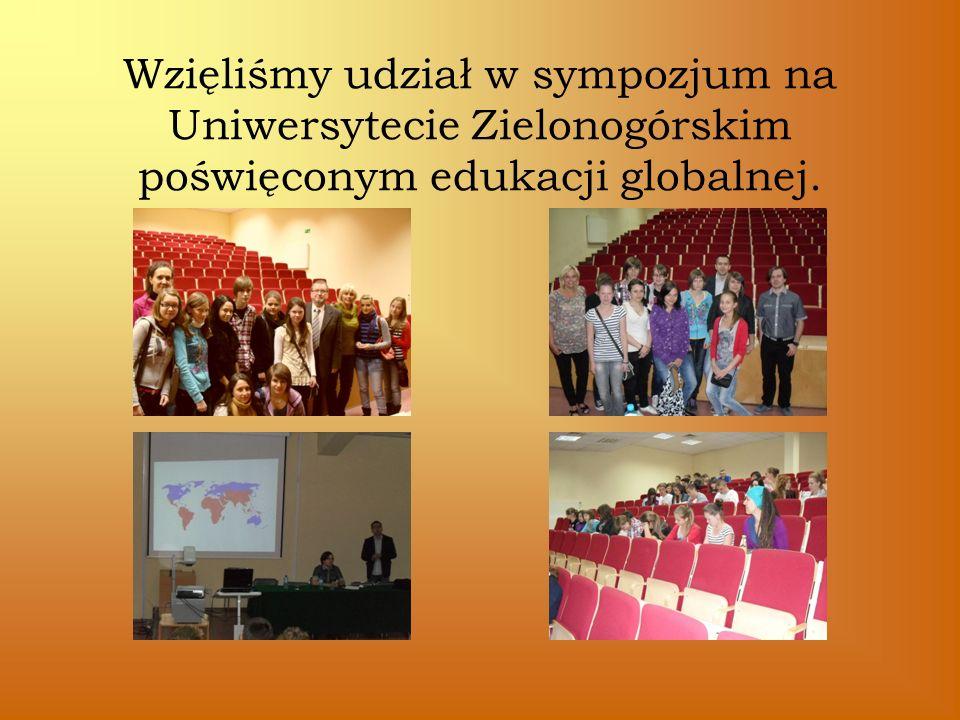 Wzięliśmy udział w sympozjum na Uniwersytecie Zielonogórskim poświęconym edukacji globalnej.