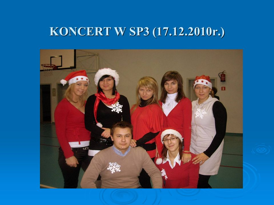 KONCERT W SP3 (17.12.2010r.)