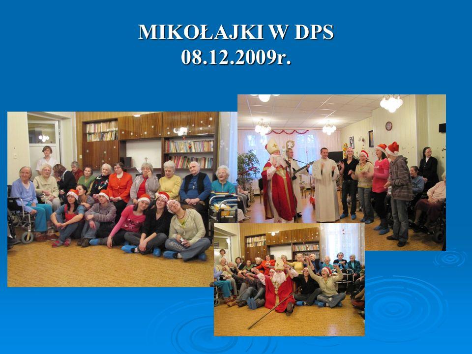 MIKOŁAJKI W DPS 08.12.2009r.