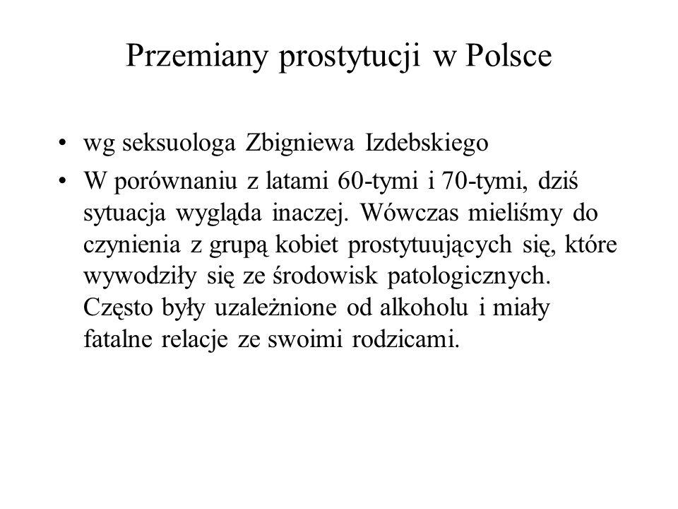 Przemiany prostytucji w Polsce
