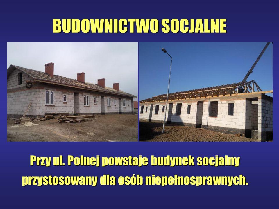 BUDOWNICTWO SOCJALNE Przy ul.