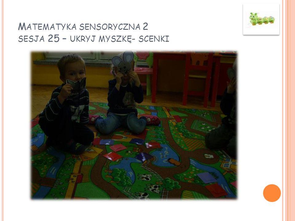 Matematyka sensoryczna 2 sesja 25 – ukryj myszkę- scenki