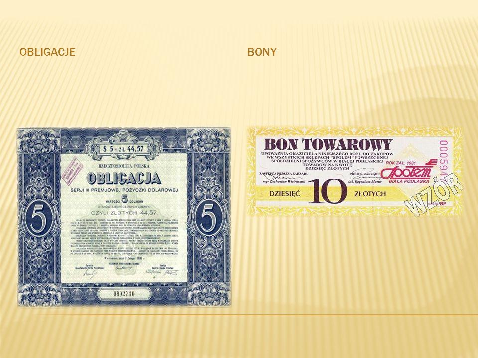 Obligacje Bony