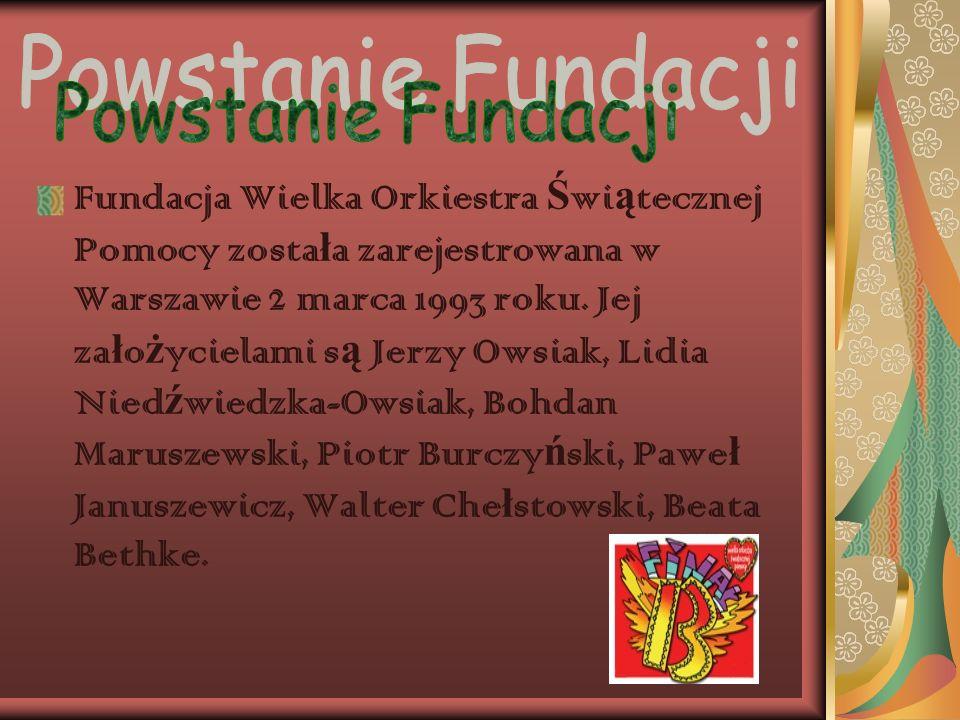 Powstanie Fundacji