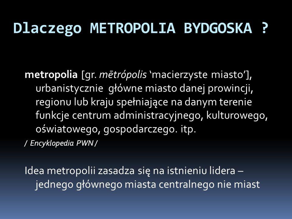 Dlaczego METROPOLIA BYDGOSKA