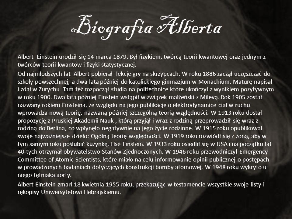 Biografia Alberta