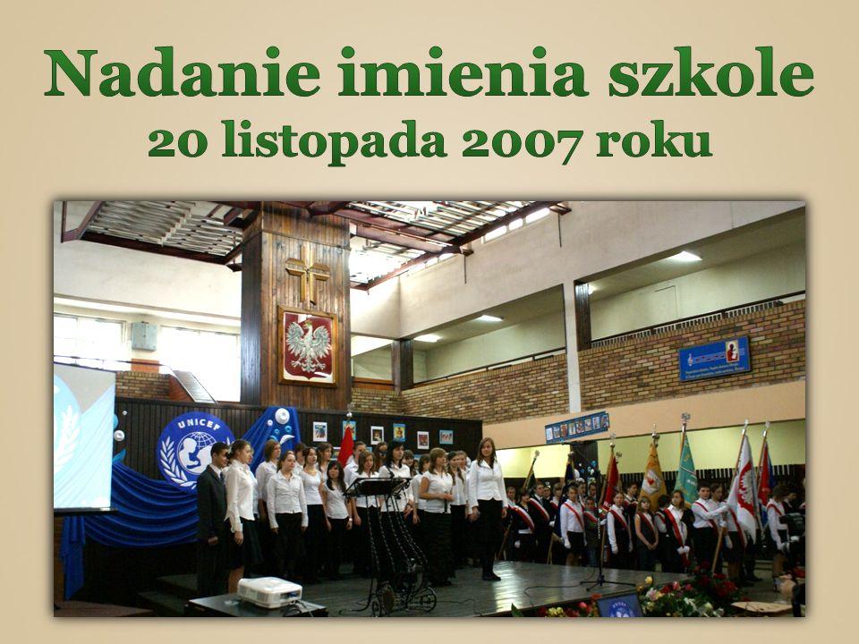Nadanie imienia szkole