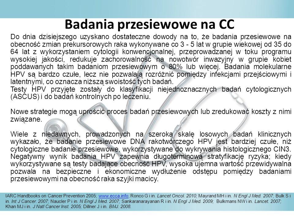Badania przesiewowe na CC