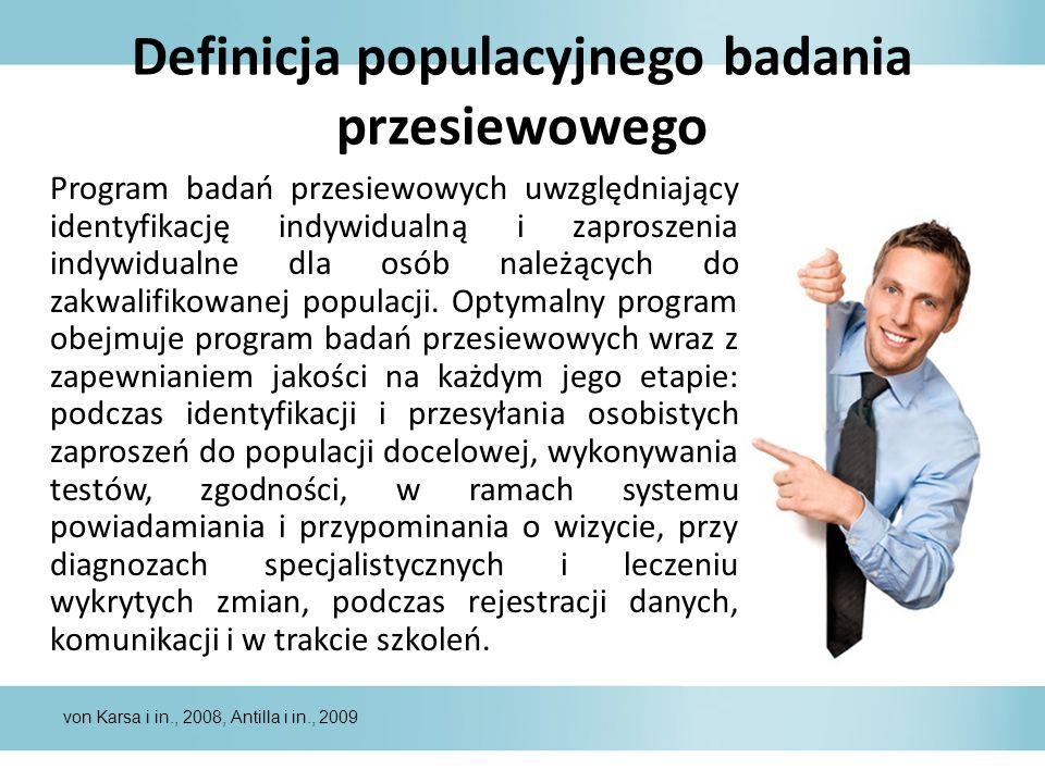 Definicja populacyjnego badania przesiewowego