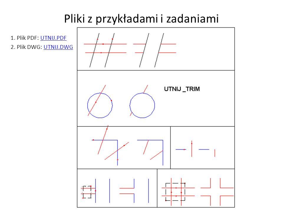 Pliki z przykładami i zadaniami
