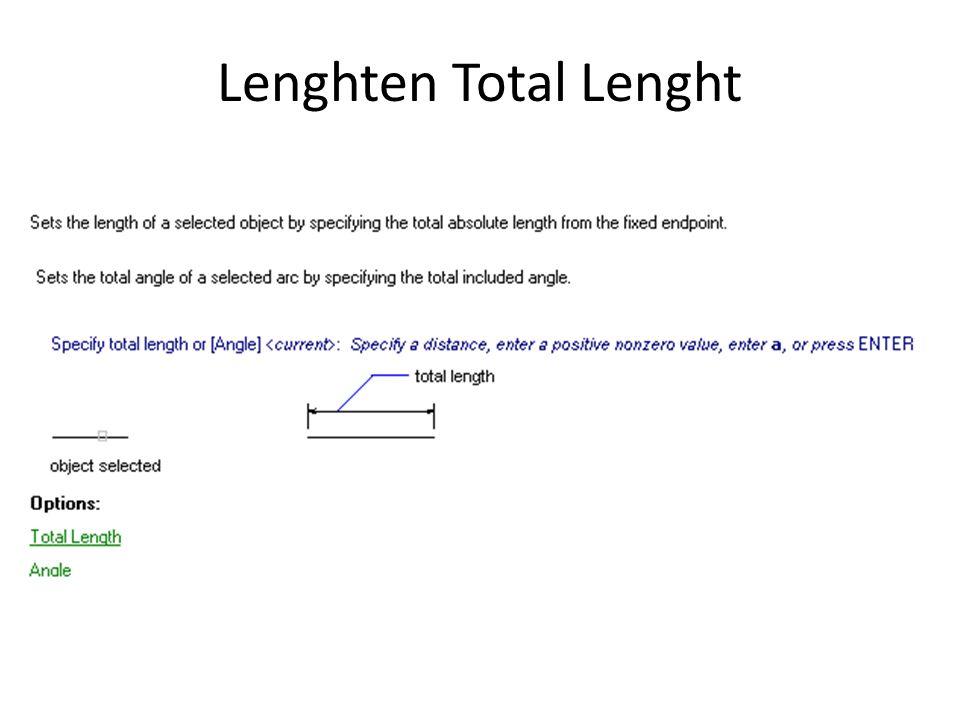 Lenghten Total Lenght