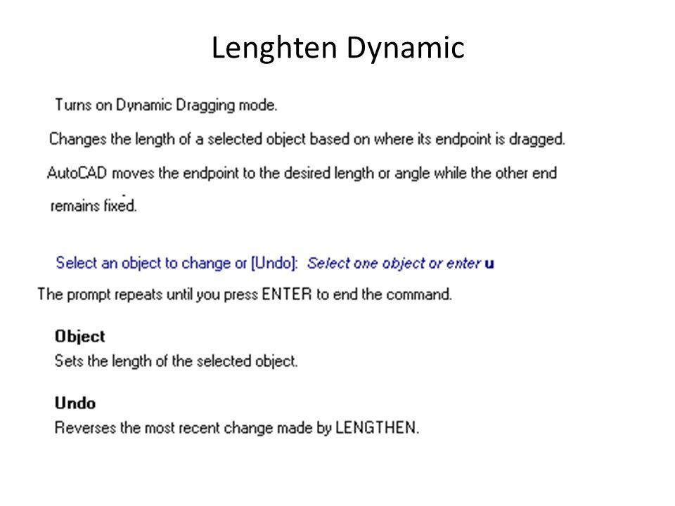 Lenghten Dynamic