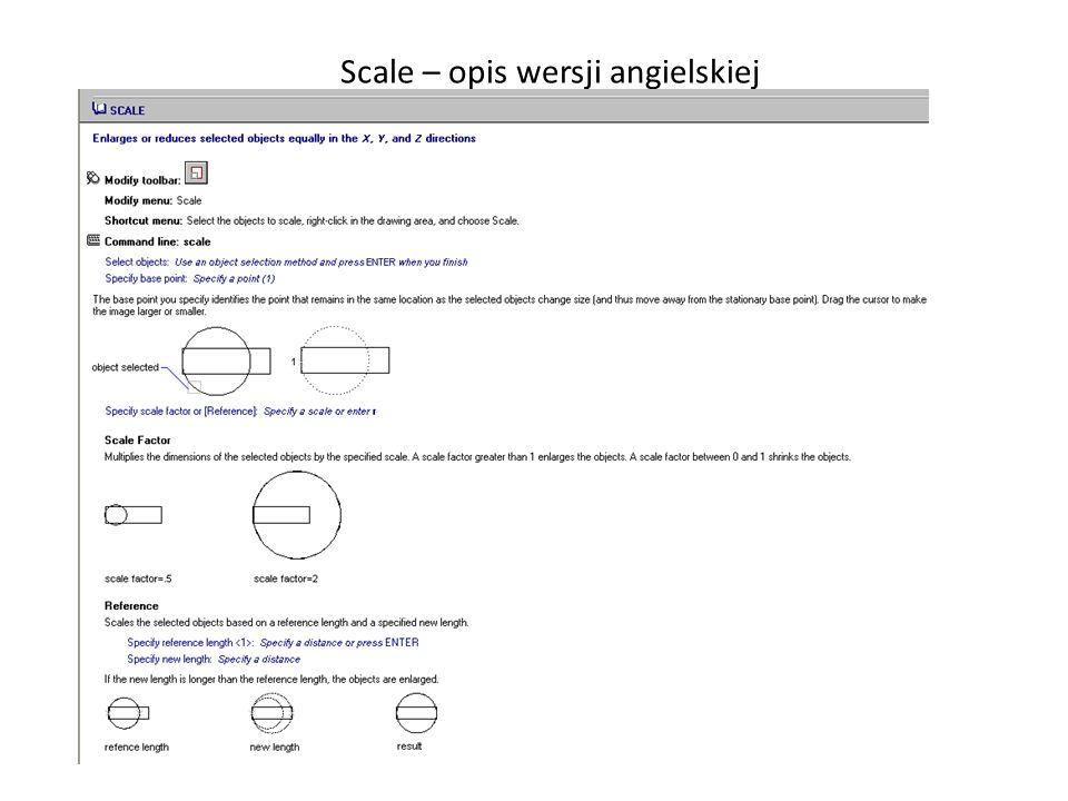 _Scale – opis wersji angielskiej