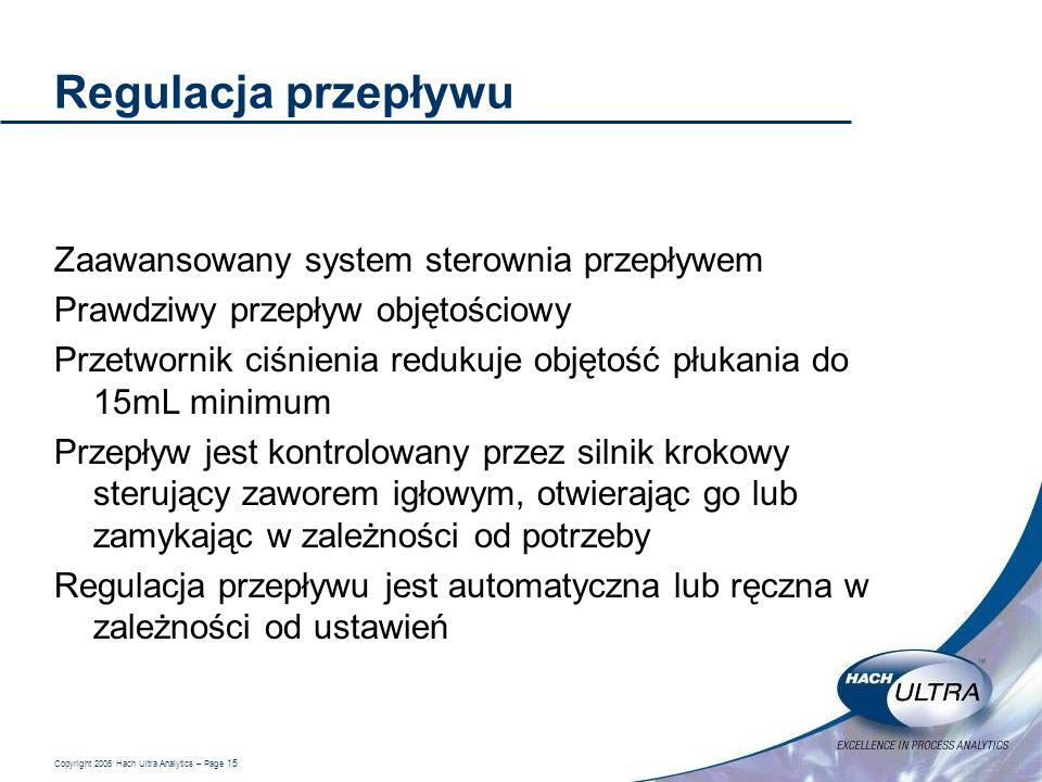 Regulacja przepływu Zaawansowany system sterownia przepływem