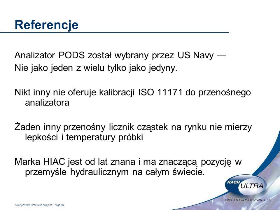 Referencje Analizator PODS został wybrany przez US Navy —